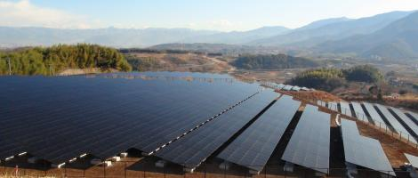 Mount_komekura_photovoltaic_power_plant