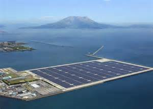 Sakurajima solar plant