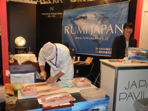 JAPAN PAVILION AT SEAFOOD EXPO 2015 ( photo by Motoko Huysveld)