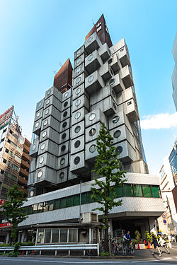Nakagin Capsule Tower (Source - Wikipedia)
