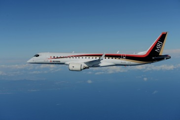 20151127_MRJ_3rd Flight Test_3 (Picture - Mitsubishi Aircraft)