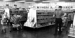Shopping in post-war Japan