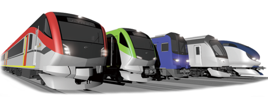 JTREC trains (Source - JTREC website)