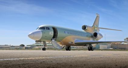 FALCON 8X (Picture Flightglobal - Dassault)