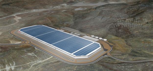 The Gigafactory Project (Picture - Tesla Motors)