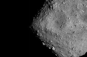 Asteroid RYUGU (Source: JAXA picture)
