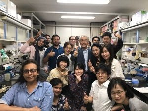 Kyoto University Nobel Prize Team 2018 (source - twitter)
